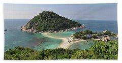 panorama Koh Nang Yuan Beach Sheet by Sushko