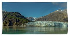 Beach Towel featuring the photograph Panorama Of Glacier Bay, Alaska by Brenda Jacobs