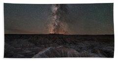 Panorama Point Milky Way Badlands 8x10 Beach Towel