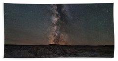 Panorama Point Milky Way Square Version Beach Towel