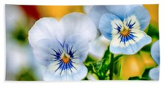 Pansy Forest Beach Towel