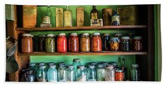 Beach Towel featuring the photograph Pantry by Paul Freidlund