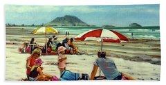 Papamoa Beach 150309 Beach Towel