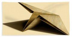Paper Airplanes Of Wood 7 Beach Towel