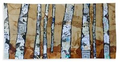 Paper Birch 3 Beach Towel