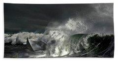 Paper Boat Beach Towel
