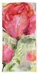 Paper Flowers Beach Sheet