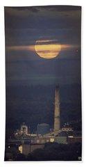 Paper Mill Moon 1 Beach Towel