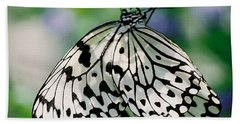 Paper Rice Butterfly Beach Towel