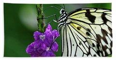 Paperkite Butterfly Closeup Beach Sheet