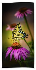 Beach Towel featuring the photograph Papilio by Jeffrey Jensen
