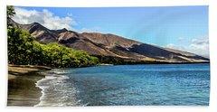 Beach Towel featuring the photograph Paradise by Joann Copeland-Paul