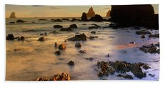 Paradise On Earth Beach Sheet