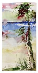 Paradise Palms Beach Towel