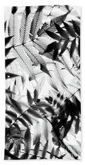 Parallel Botany #5229 Beach Towel by Andrey Godyaykin