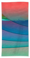 Parallel Dimensions - Submerged Beach Towel by Serge Averbukh