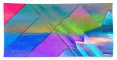 Parallel Dimensions - The Multiverse Beach Towel by Serge Averbukh