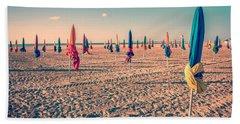 Parasols Of Deauville Beach Towel