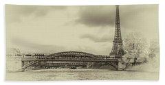 Paris 2 Beach Towel