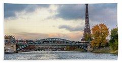 Paris 3 Beach Towel
