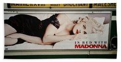 Paris Bus Beach Sheet