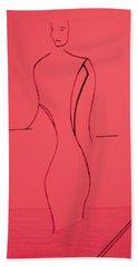 Paris Fashion Beach Sheet by Bill OConnor