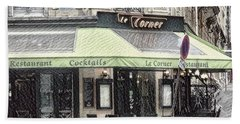 Paris - Restaurant Beach Sheet