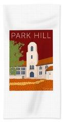 Park Hill Maroon Beach Sheet