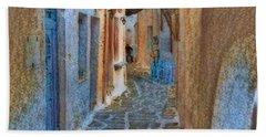 Paros Beauty Island Greece  Beach Towel
