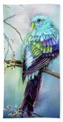 Parrot Beach Towel by Loretta Luglio