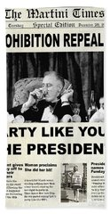 Party Like The President Beach Towel