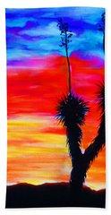 Paso Del Norte Sunset 1 Beach Towel