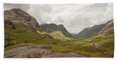 Pass Of Glencoe Beach Towel