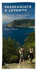 Passeggiate A Levante - The Book By Enrico Pelos Beach Sheet