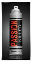 Passion Killer Concept. Beach Towel