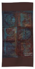 Passion Play - Six Of Hearts Beach Towel by Kerryn Madsen - Pietsch
