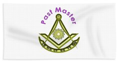 Past Master In White Beach Towel