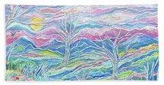 Pastel Country Beach Sheet
