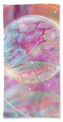 Pastel Dream Sphere Beach Towel