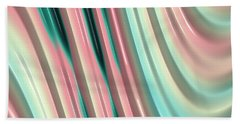 Beach Towel featuring the photograph Pastel Fractal 2 by Bonnie Bruno