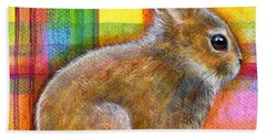 Beach Towel featuring the painting Pastel Love by Retta Stephenson