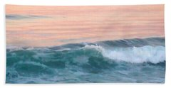 Beach Towel featuring the photograph Pastel Morning by Art Block Collections