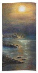 Pastel Msc 002 Beach Towel by Mario Sergio Calzi