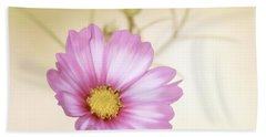 Pastel Petals Beach Towel by MTBobbins Photography