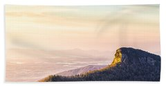 Table Rock Mountain - Linville Gorge North Carolina Beach Towel