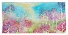 Pastel Spring Beach Sheet
