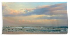 Pastel Sunrise Beach Sheet