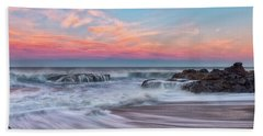 Pastel Sunrise Beach Towel