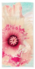 Pastell Poppy Beach Towel