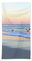 Pastels On Water Beach Towel